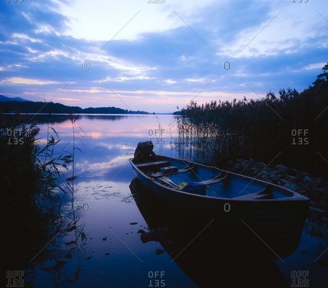 July 26, 2007: Lough Leane, Lakes Of Killarney, Co Kerry, Ireland; Lake At Sunset