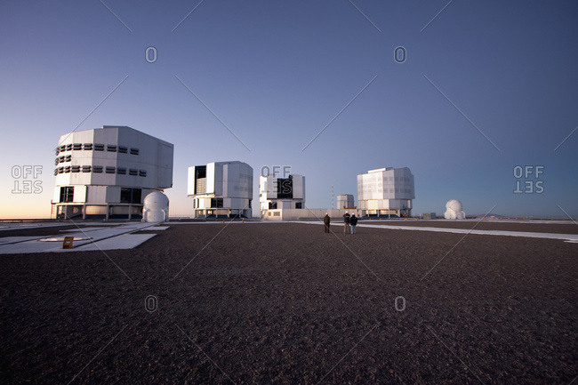 February 27, 2008: Sun Unit Telescope 1, Moon Unit Telescope 2, Southern Cross Unit Telescope 3, Venus Unit Telescope 4 Belonging To The Very Large Telescope (Vlt) Operated By The European Southern Observatory At Paranal, Antofagasta Region