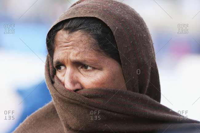 January 0, 1900: Woman In A Relief Camp After The 8 October 2005 Earthquake, Muzaffarabad, Azad Kashmir, Pakistan