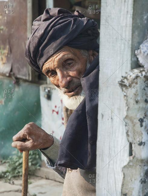 Circa 2000s: Old Man, Dhirkot, Azad Kashmir, Pakistan