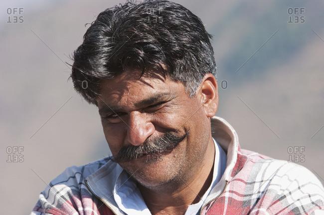November 6, 2005: Man, Chikar, Azad Kashmir, Pakistan