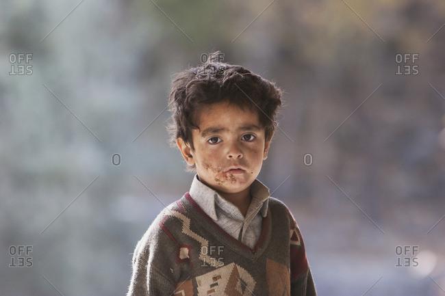 November 8, 2005: Boy, Shigar, Northern Areas, Pakistan