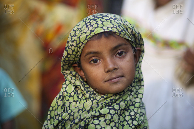 February 22, 2010: Portrait Of A Young Bengali Girl; Kishoreganj, Bangladesh