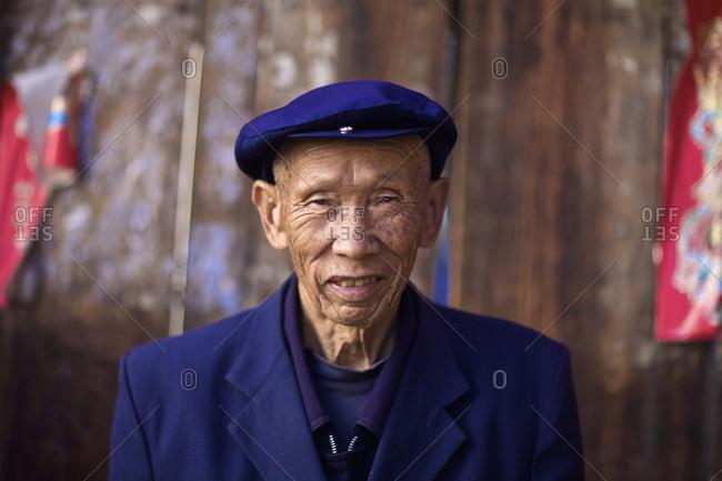 May 11, 2011: Portrait Of An Elderly Man; Yunnan, China