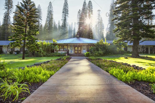 July 12, 2015: The Heritage Centre; Lanai City, Lanai, Hawaii, United States Of America