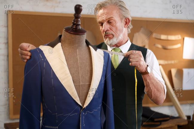An authoritative fashion designer
