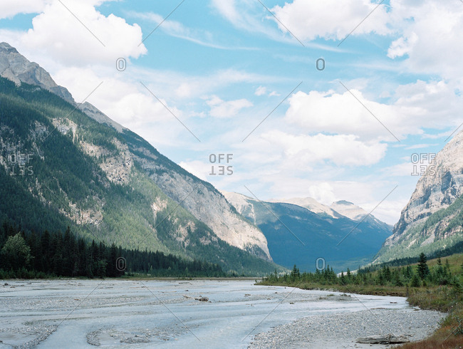 Mountain landscape in Vancouver, British Columbia