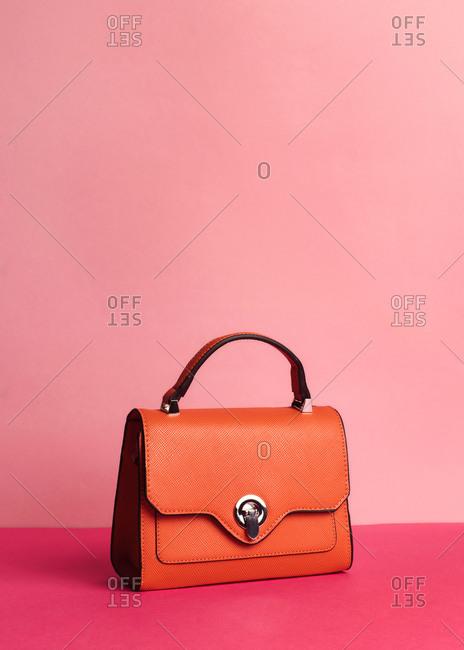 A chic fashion bag