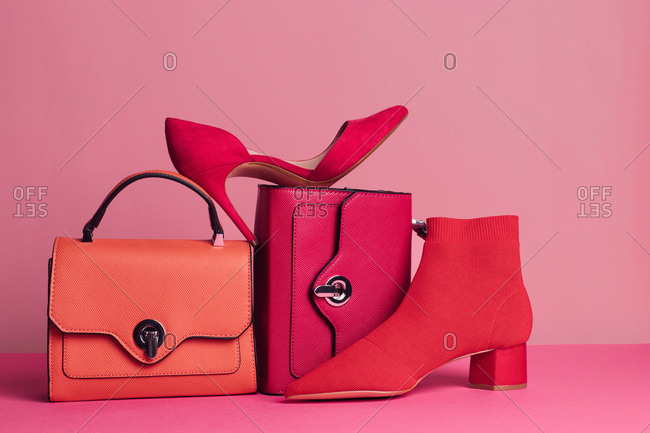 Chic bags and heels