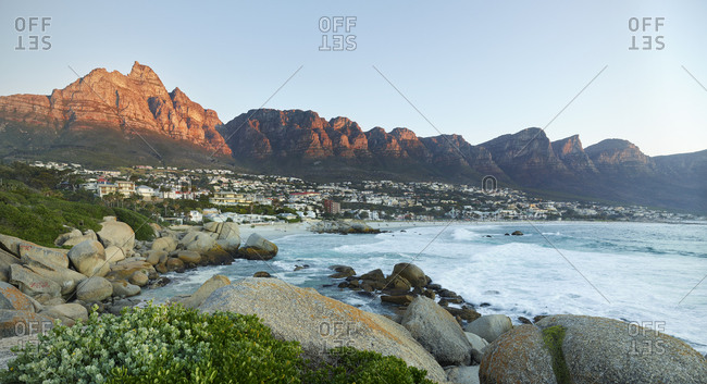 South Africa- Western Cape- Cape Town- Camps Bay- Twelve Apostles