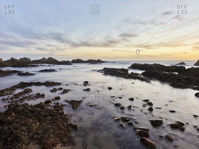 South Africa- Western Cape- Knysna- Buffalo Bay in the evening
