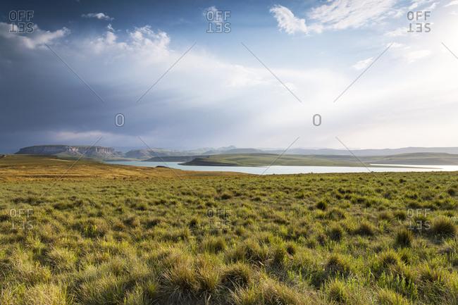 Africa- South Africa- Harrismith- Sterkfontein Dam- Drakensberge