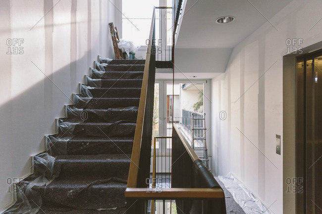 Renovation of staircase