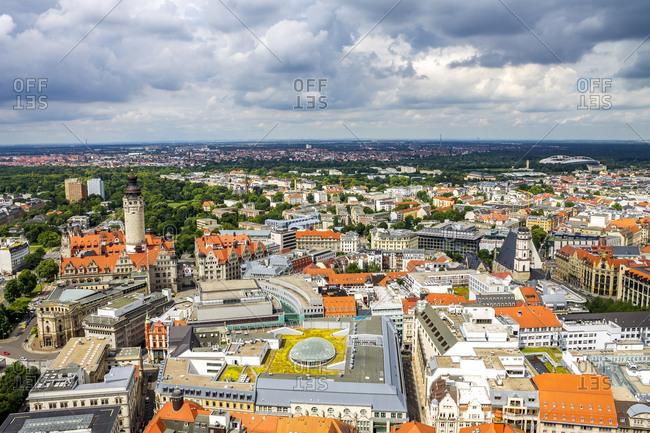 Germany- Saxony- Leipzig- New Townhall