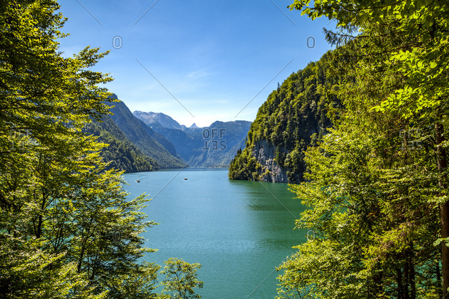 Germany- Bavaria- Lake Koenigssee