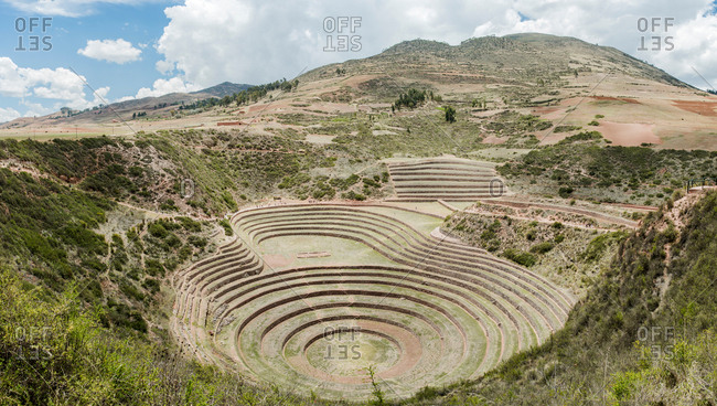 Moray Ruins, Cusco, Cusco, Peru, South America