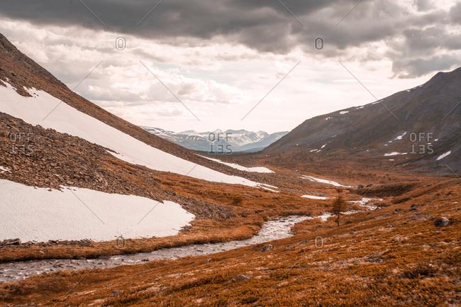 Mountain range, Ural, Sverdlovsk, Russia