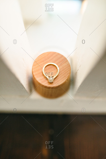 Beautiful engagement diamond ring