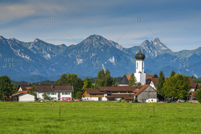 August 8, 2017: Halblech, Bavaria, Germany