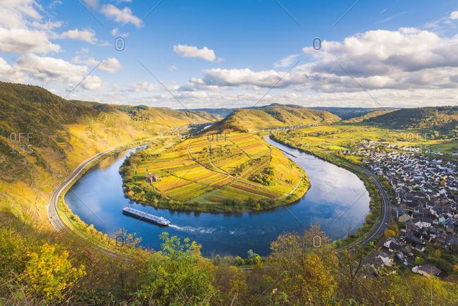 Bremm, Cochem-Zell district, Rhineland-Palatinate, Germany.