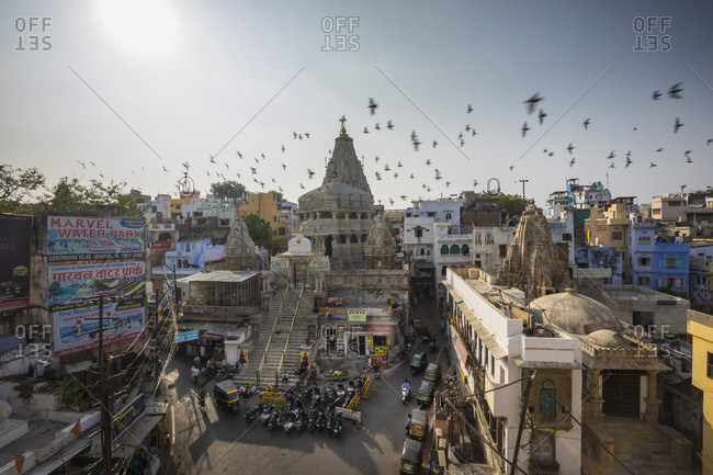 November 16, 2017: Jagdish Hindu Temple, Udaipur, Rajasthan, India
