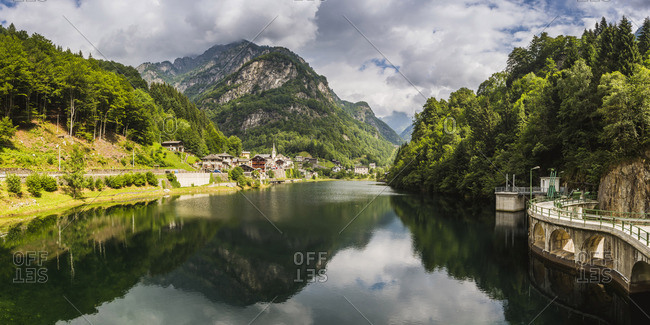 Rimasco, Vercelli province, Piedmont, Italy.