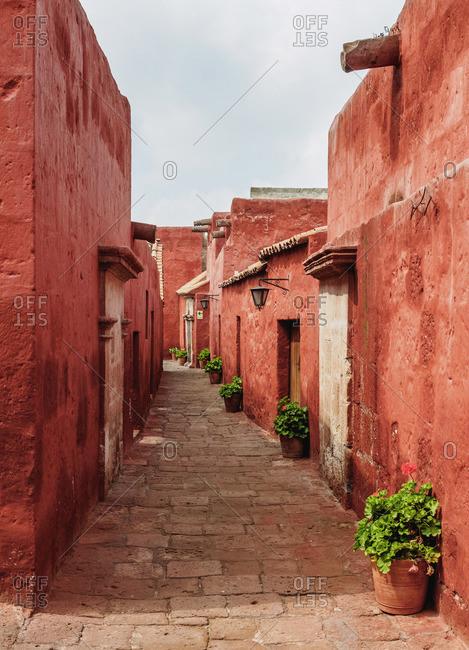 Toledo Street, Santa Catalina Monastery, Arequipa, Peru