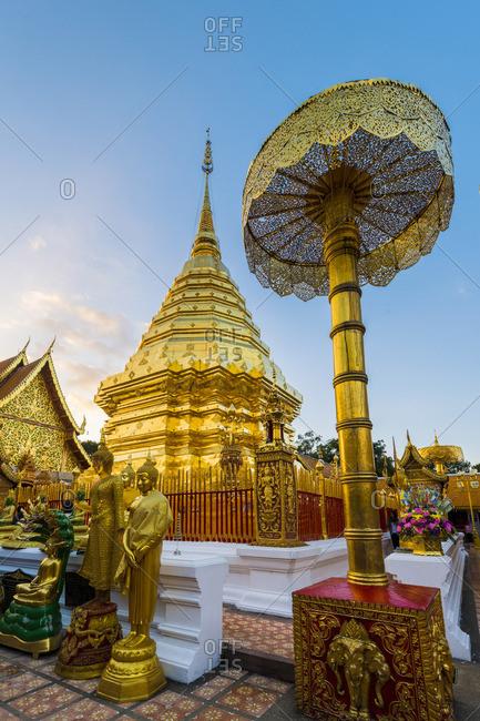 December 1, 2017: Wat Phrathat Doi Suthep, Chiang Mai, Thailand.