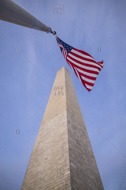 USA, District of Columbia, Washington, National Mall, Washington Monument