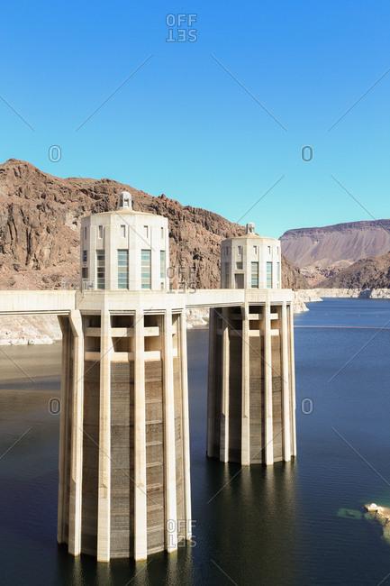 arch gravity dam stock photos - OFFSET