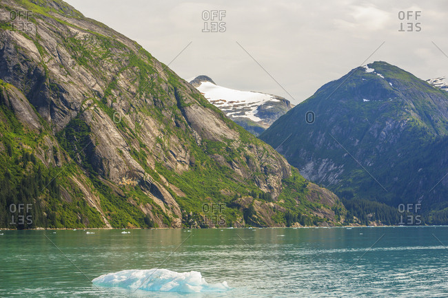 Scenic views in Tracy Arm, Tongass National ForeSt. Southeast Alaska Inside Passage, USA