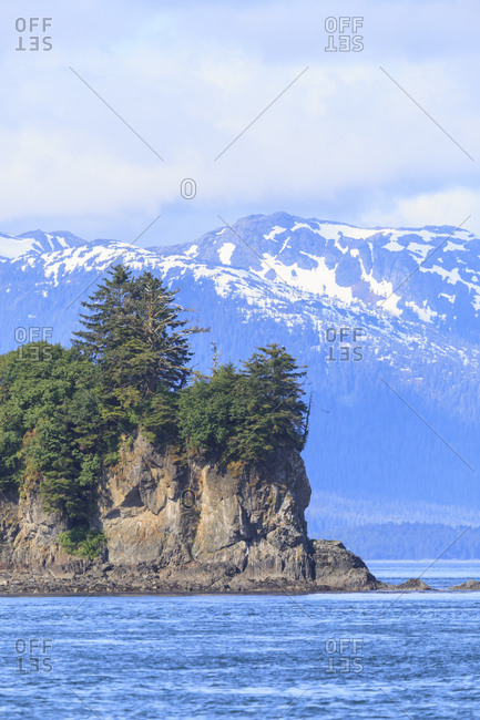 Point Adolphus, Inside Passage, Icy Strait, Southeast Alaska, USA