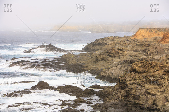 Northern California coast USA