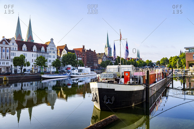 January 18, 2018: Germany- Schleswig-Holstein- Luebeck- Old town-