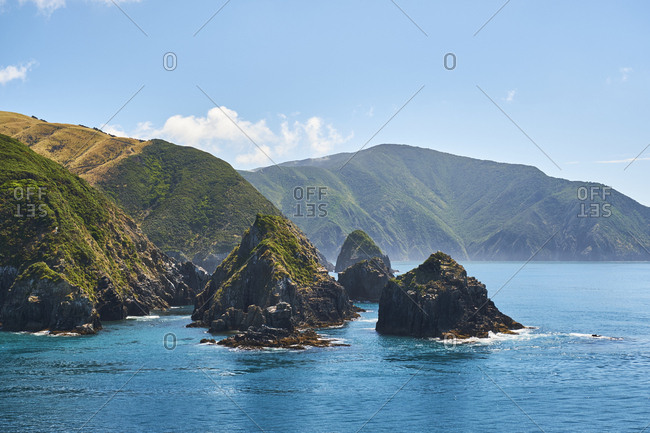 New Zealand- South Island- - Offset
