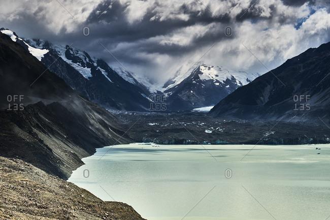 New Zealand- South Island- Mount Cook National Park- Tasman Lake