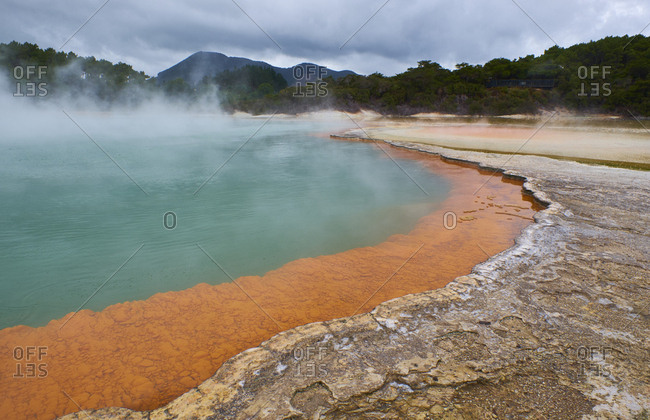 New Zealand- North Island- Wai-O-Tapu- Champagne Pool