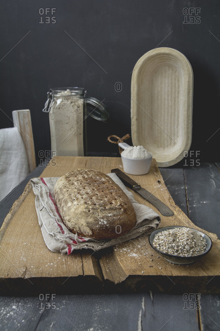 Rye bread and rye meal