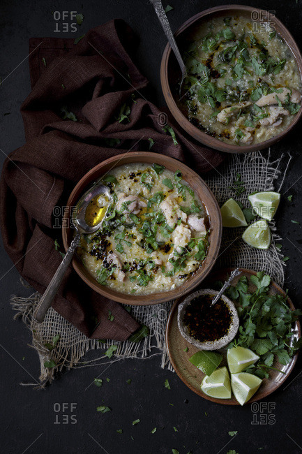 Asian chicken and rice stew