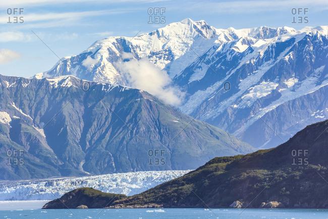 USA- Alaska- St. Elias Mountains and Yukon- Hubbard Glacier