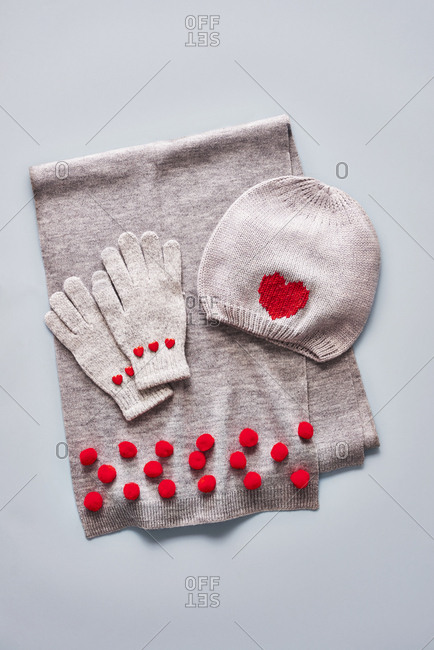 Personalized winter accessories