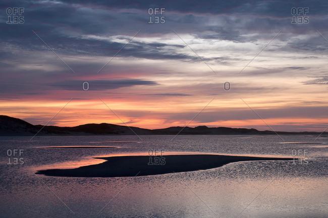 Sable Island, Nova Scotia, Canada - August 10, 2009: Sunrise Over The Ocean; Sable Island, Nova Scotia, Canada