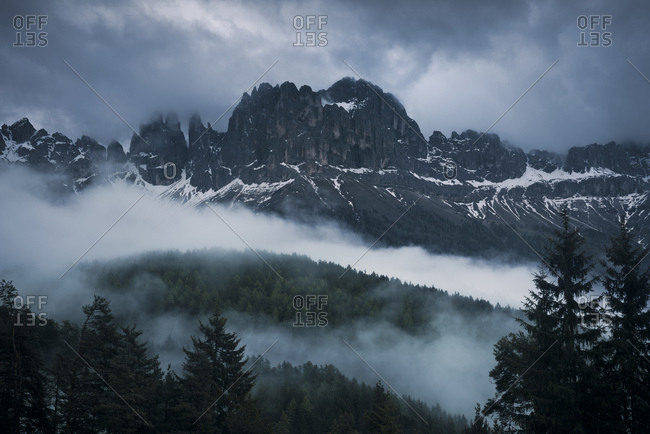 Vajolet Towers, Rosengarten group, Dolomites, Italy