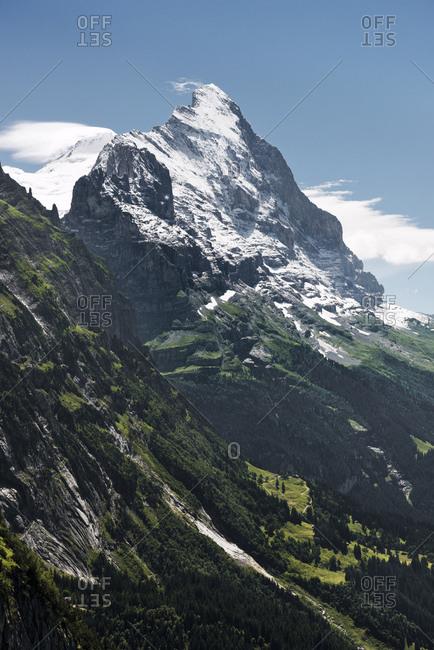 North Face of Eiger mountain, Grindelwald, Canton Bern, Switzerland