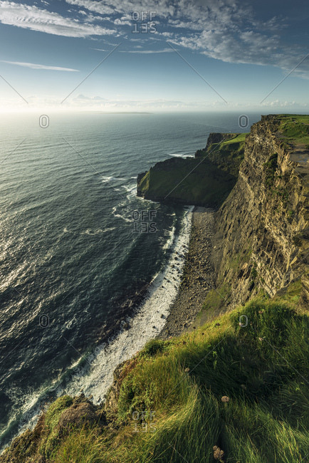 Cliffs of Moher in County Clare on Ireland