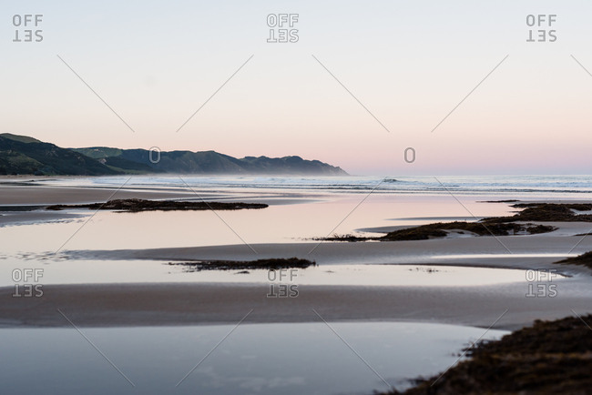 View of ocean and Hawke's Bay, New Zealand