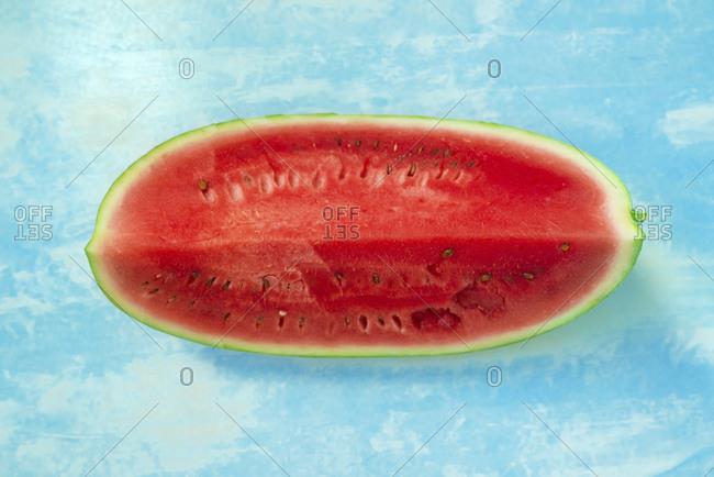Cut watermelon.