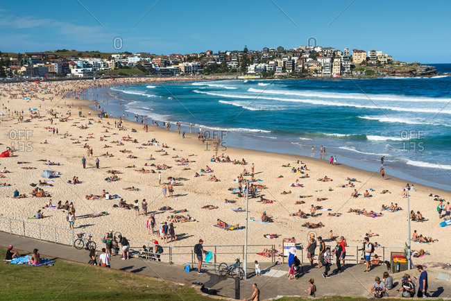 March 11, 2017: Bondi Beach, Sydney, New South Wales, Australia, Pacific
