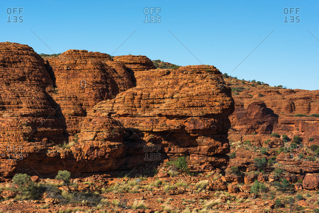 The Domes of Watarrka (Kings Canyon), Northern Territory, Australia, Pacific
