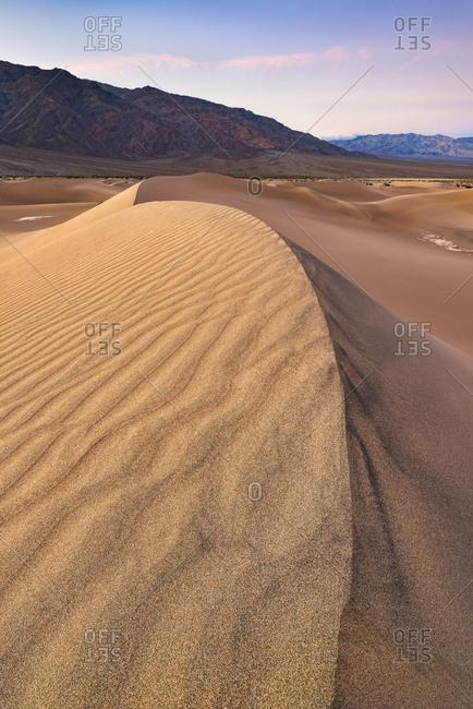 USA, California, Death Valley National Park, Eureka Dunes,